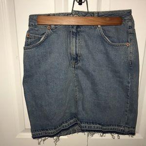 Top shop Jean Skirt NEVER WORN